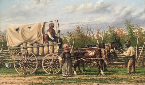 Sold untitled oil painting by William Aiken Walker.