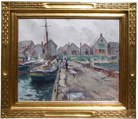 Frame view of SouthEaster by Guy C. Wiggins.