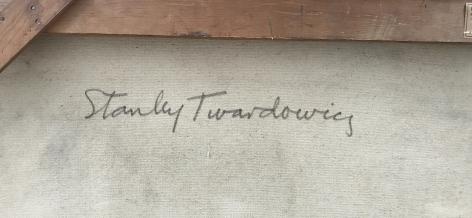 """Signature """"#33"""" by Stanley Twardowicz."""