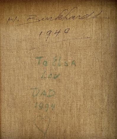"""Inscription on """"Ballerinas"""" by Hans Burkhardt."""