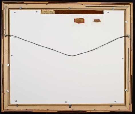 Verso of Masts by Irene Rice Pereira.
