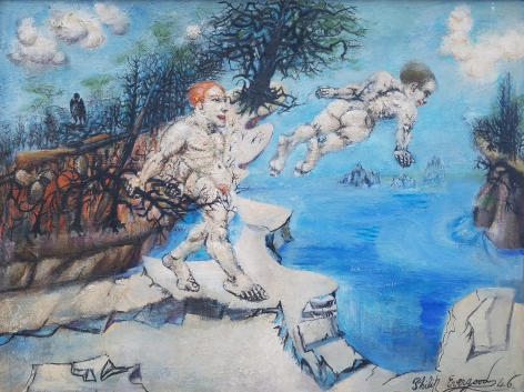 """""""Lure of the Waters"""" by Philip Evergood."""