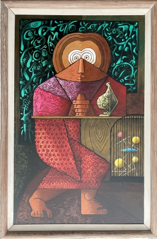 "Frame of ""St. Atomic"" by Julio De Diego."