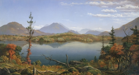 """Levia Wells Prentice sold painting entitled """"Fall in the Adirondacks""""."""