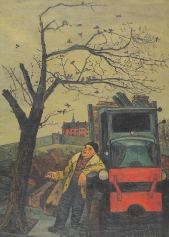 """""""Junkman's Serenade"""" by Gregorio Prestopino."""