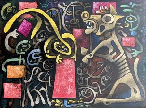 """Trojan Horse - Equestrian"" by Julio de Diego."