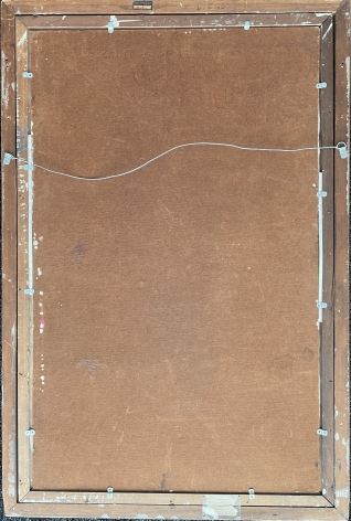 "Verso of ""St. Atomic"" by Julio De Diego."