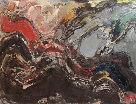 """""""Untitled Artist's Estate #30"""" by Julius Hatofsky."""