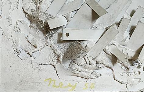 "Signature on ""Construction"" by Lloyd Ney."