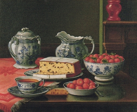 """Levi Wells Prentice sold painting entitled """"Still Life with Strawberries""""."""