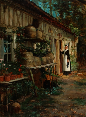 """""""Beekeeper's Daughter"""" by Henry Bacon."""