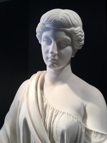 Head detail of Woman of Samaria.