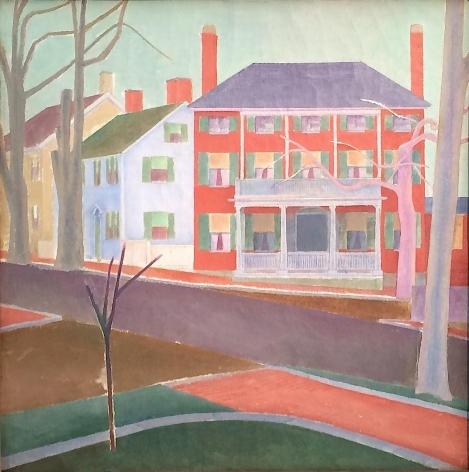 """""""New England"""" by Stefan Hirsch."""