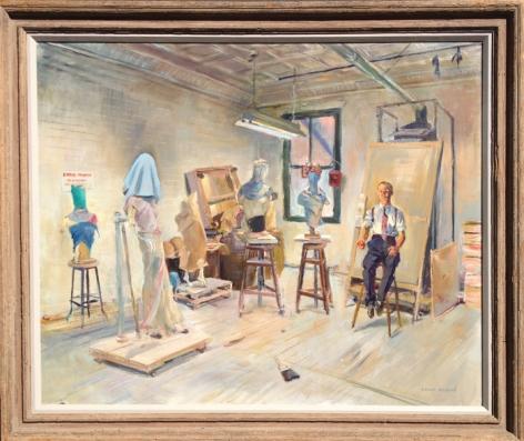"Frame on ""Judgement of Paris"" by Louis Bouche."