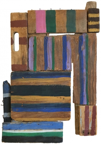 """Sold painting by Betty Parsons entitled """"Far Away""""."""