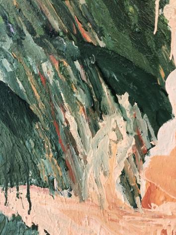 "Detail ""Tiger Falls"" by Robert Zakanitch."