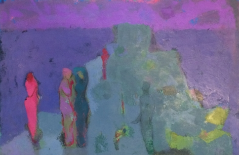 "Martin Friedman sold painting entitled ""Mauve""."