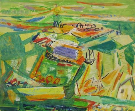 Vaclav Vytlacil 1947 painting of Martha's Vineyard.