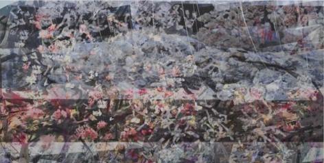 BRINTZ GALLERY_PETRA CORTRIGHT_DEESIDE COLLEGE OPAC_Nutta Butta, 2018_48x94_Unique Art