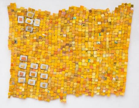 BRINTZ GALLERY_SERGE ATTUKWEI CLOTTEY_Shallow Research, 2017_60x74_Unique Art