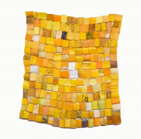 BRINTZ GALLERY, SERGE ATTUKWEI CLOTTEY, How far are we?, 2015, Plastics, wire and oil paint, 62 by 58 inches, Unique Art