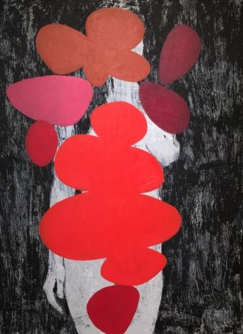 BRINTZ GALLERY_ENOC PEREZ_Untitled (Shape Series), 2020_48x36_Unique Art