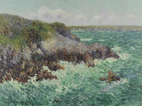 GUSTAVE LOISEAU  French, 1865 – 1935  Rochers de Saint-Lunaire, 1904