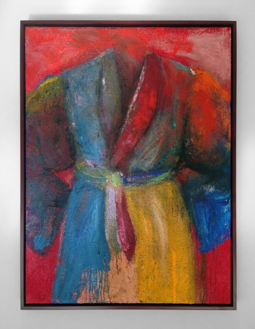 Jim Dine  Gin From Our Still  2014  Acrylic, sand and charcoal on canvas