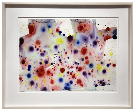 Sam Francis  Untitled; Tokyo (SF74-96)  1974  Acrylic on paper