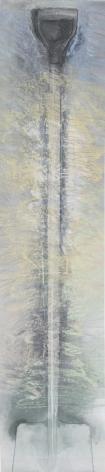 Jim Dine Shovel, 1975 Pastel, graphite, charcoal, and spray enamel on paper