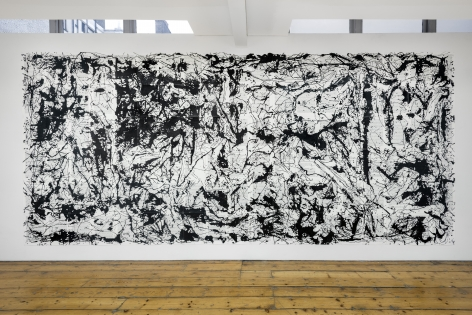 Picasso's Guernica in the Style of Jackson Pollock (Essay II),
