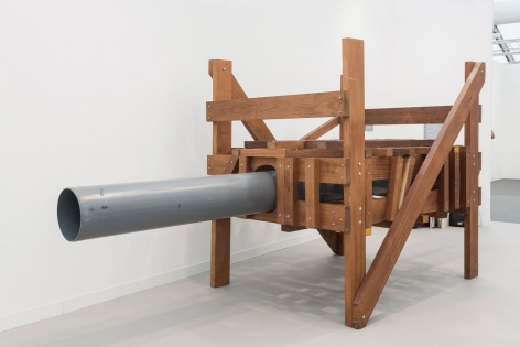Untitled, 1993 wood and pvc