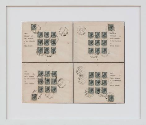 Lavoro Postale (La quadratura del dieci), 1972