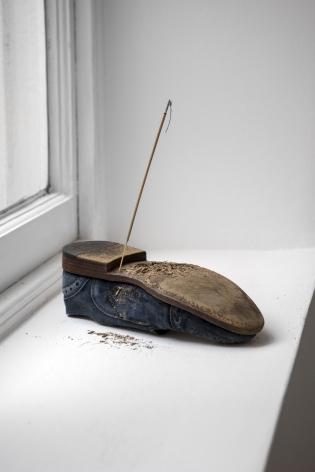 Scarpa, 2019 shoe, clay, incense