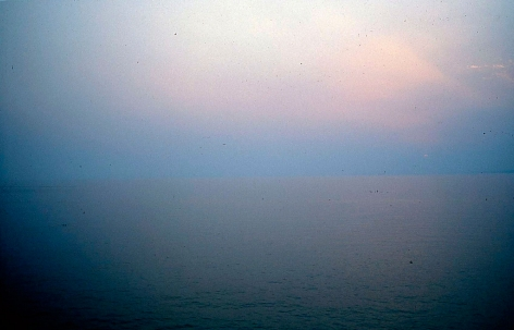seascape at sunset, camogli, italy