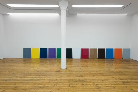 Colori, 2016 13 unframed B2 coloured cardboards