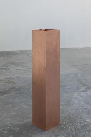 Rame (Parallelepipedo per 70 kg di cenere), 2020