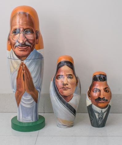 Toy Gandhi 2 (Small Russian Dolls)