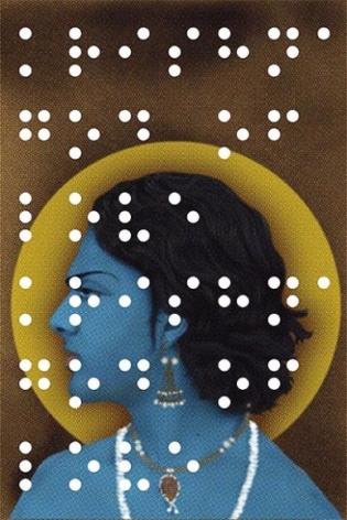 Hasnat Mahmood KRISHNA - GOD OF LOVE 2009 Digital print on paper, Edition of 3 41 x 27.5 in.