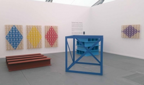 Installation View 2 Aicon Gallery Booth A21 Frieze NY Spotlight