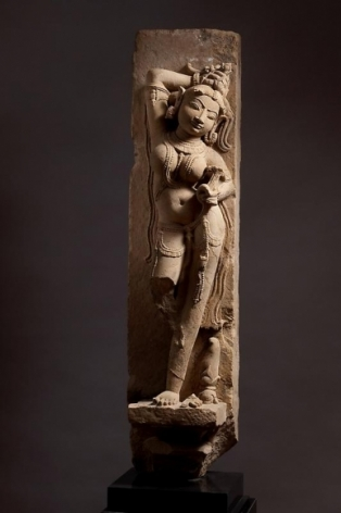 Surasundari Central India, Madhya Pradesh c. 10th Century Sandstone Height: 37 in.