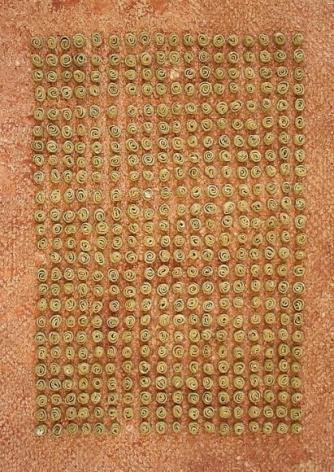 Yogesh Kasera SHADOW IN CONVERSATION 4 2007 Paper pulp 23 x 31 in.