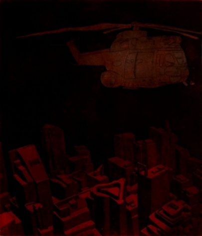 Damon Kowarsky CITIES AND THE SKY II 2008 35 x 30 cm.