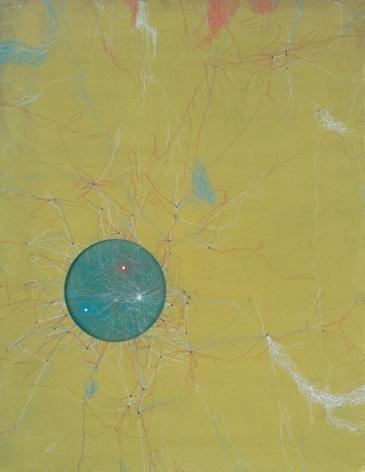 Muhammad Zeeshan LETS MAKE A GREAT PATTERN II 2008 Gouache on wasli 26.5 x 20.5 in.  SOLD