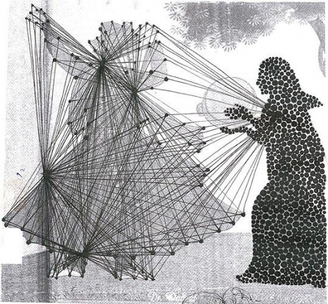 Hasnat Mahmood KRISHNA AND RADHA 2009 Digital print on paper, Edition of 3 32.5 x 30 in.
