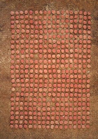 Yogesh Kasera SHADOW IN CONVERSATION 1 2007 Paper pulp 31 x 22 in.