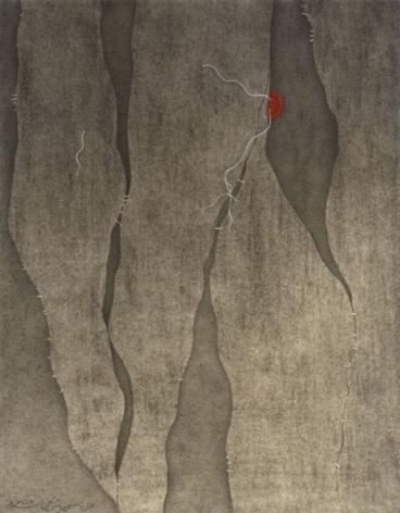 Sumaira Tazeen CHUPPUN CHUPPAI II (HIDE AND SEEK) 2008 Opaque water based pigment on wasli 11 x 8.5 in.