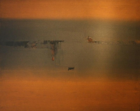 V.S. Gaitonde Untitled Oil on canvas 1965 40 x 50 in.