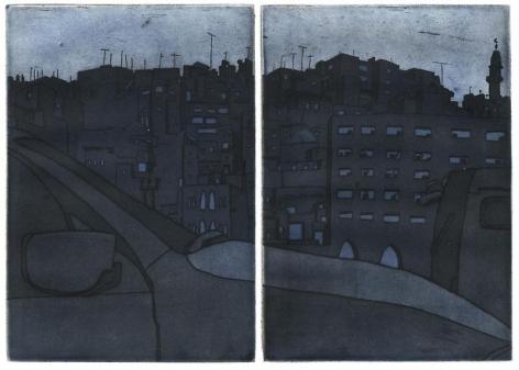 Damon Kowarsky AMMAN II 2011 18 x 28 cm.