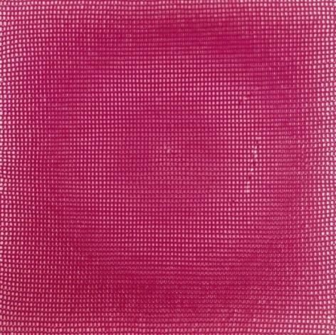Shobha Broota RADIANCE I 2005 Wool on canvas 30 x 30 x 1 in.